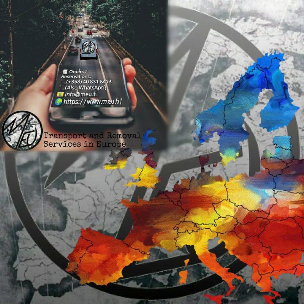 Kuljetus Eurooppa